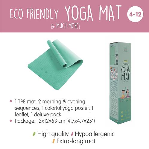 Ecofriendly Yoga Mat - Green