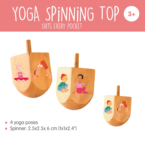 YOGA SPiNNiNG TOP