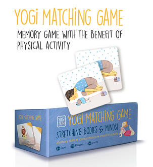 Yogi Fun matching game