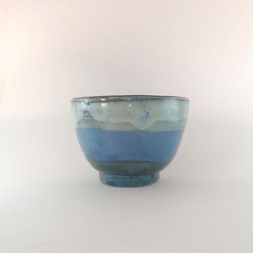 Tea Bow Blue-Green