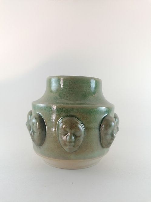 Small Face Vase