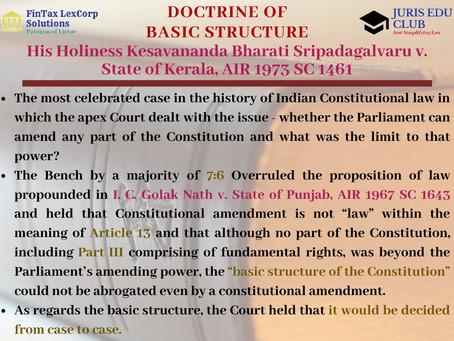The Savior of Indian Constitution – His Holiness Kesavananda Bharati