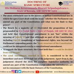 CONSTITUTION CASES-His Holiness Kesavana