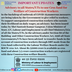 IMPORTANT UPDATES-Advisory to all States