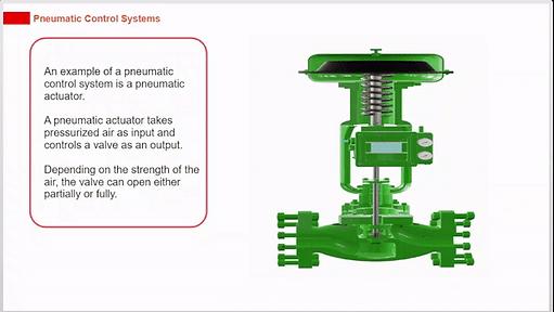 Pneumatic control system