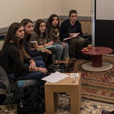 Rencontres avec les étudiantes de l'école d'assistantes sociales de Moulins 6.11.18