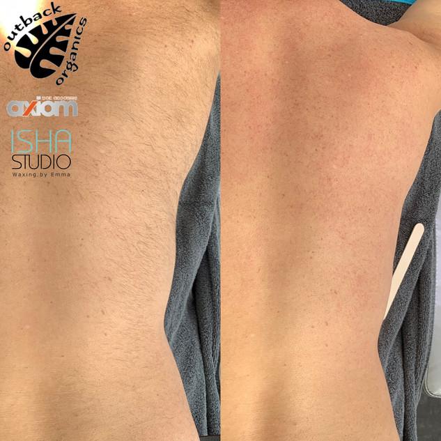 Full body unisex waxing at Isha Studio