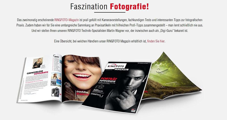 Fotomagazin Ringfoto Foto + Studio Hesse