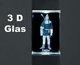 3D; 3D Druck; 3D Glas; 3D Glasfoto