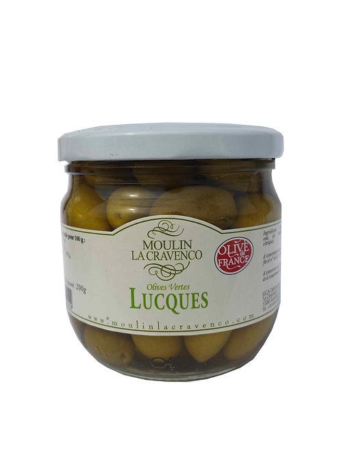 Olives vertes/noires 200g