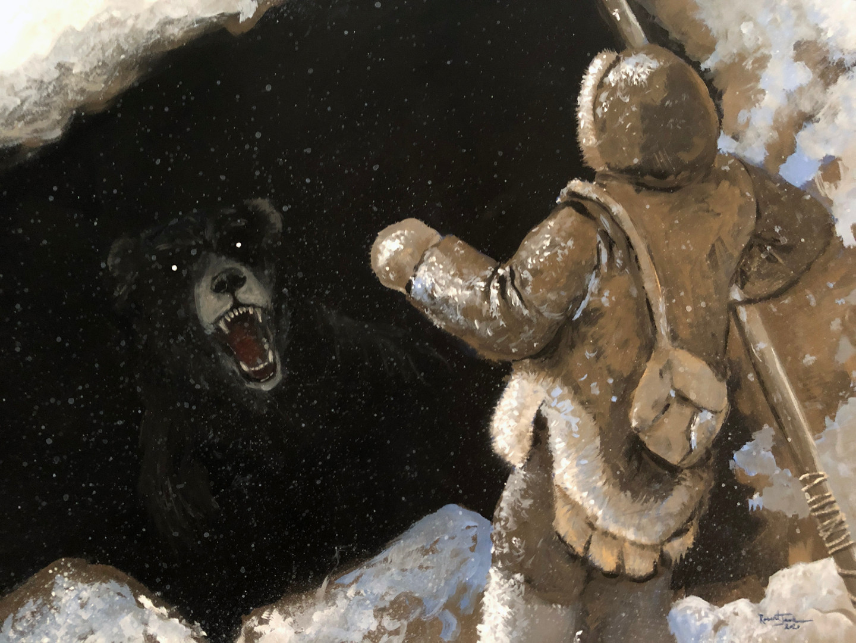 Cave Bear Encounter