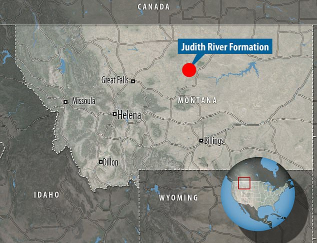 Judith River Formation in Montana