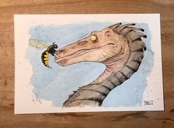 The Dinosaur and the Wasp
