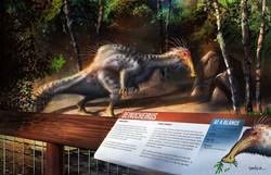 Deinocheirus Exhibit