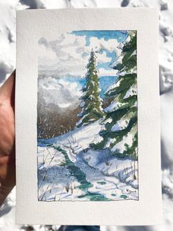 Winter Pines #2