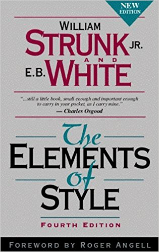 Elements of Style - Strunk & White