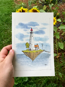 Floating Lighthouse