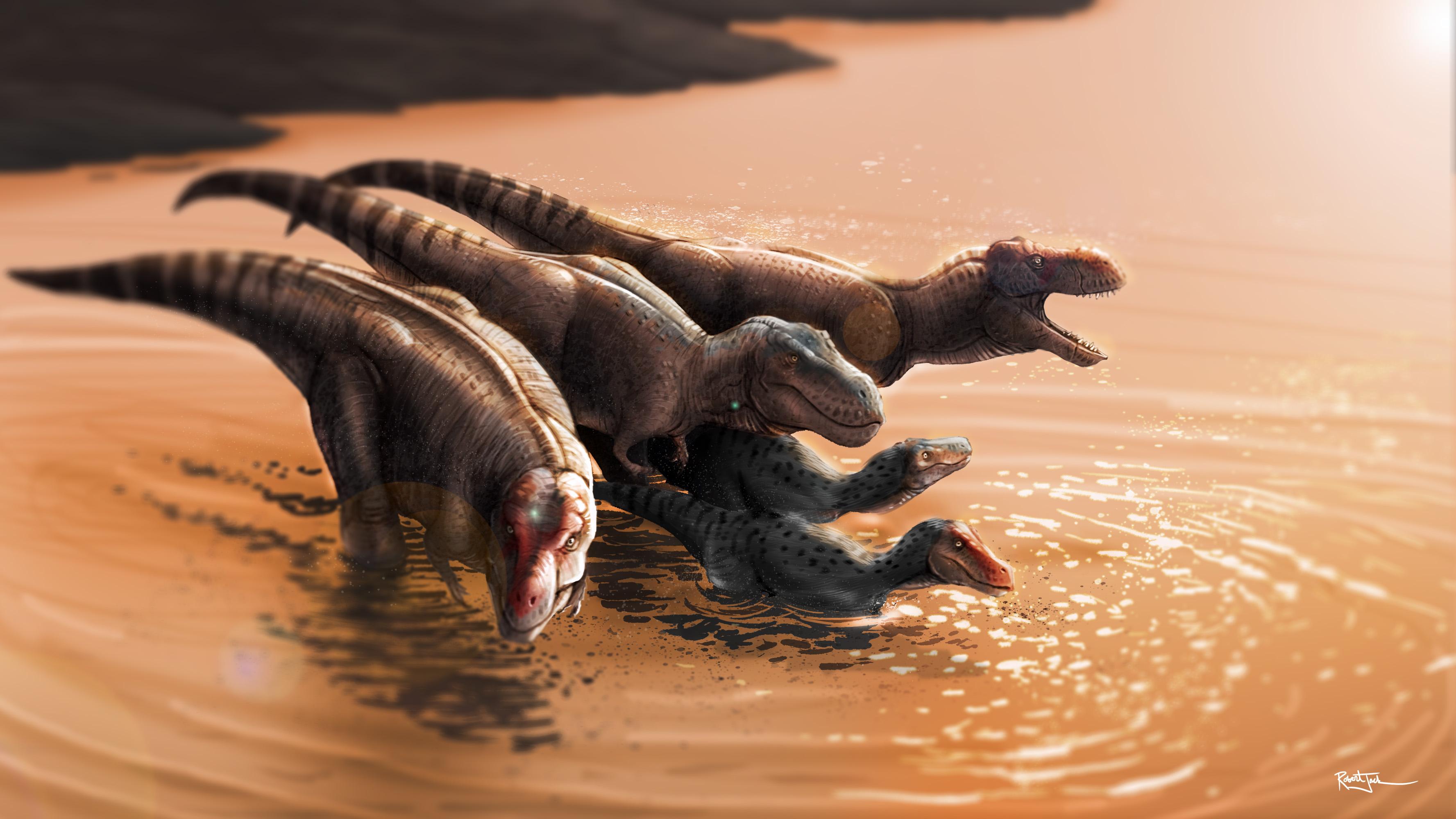 T.rex River Crossing