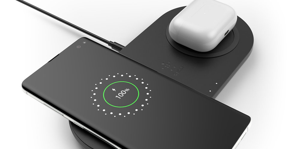 Belkin Boost Charge Dual-Wireless Charger (2x10W)