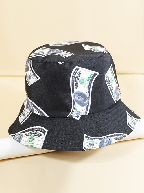 Dollar Bill Bucket Hat