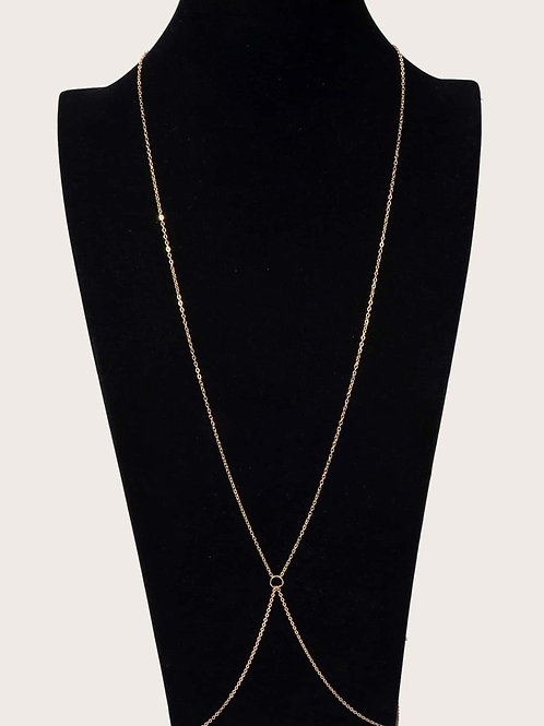 Gold Link Body Chain