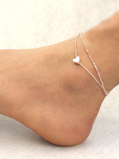 Heart Anklet