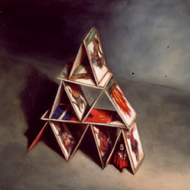 House of Cards, 1999 Oil on linen
