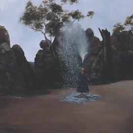 Storm, 2001 Oil on linen 84 x 152 cm