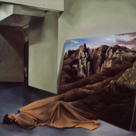 Comfortably Numb, 1999 Oil on linen 102 x 111 cm