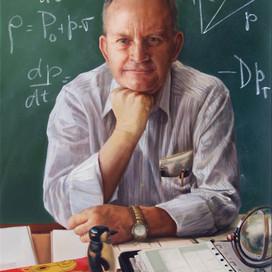 Portrait of Professor Bruce McKellar, 2006 oil on linen 97 x 66cm The University of Melbourne