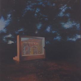 Charade, 2001 Oil on linen 70.5 x 66 cm