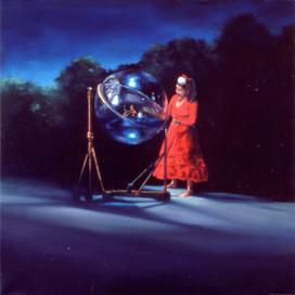 The Fortune Teller, 2001 Oil on linen 71 x 71 cm