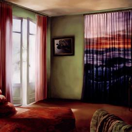 The Dream Room, 2001 Oil on linen 152 x 213 cm