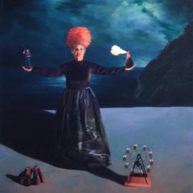Contessa, 1999 Oil on linen 137 x 167 cm