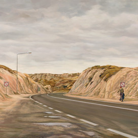 Road to the Lost and Found, 2017 oil on linen 79x 146.5cm 20265 cat.22