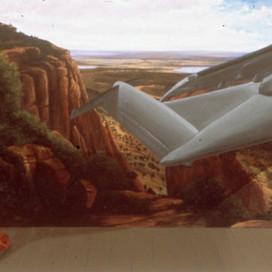 Sublime, 1989 Oil on linen 122 x 183 cm