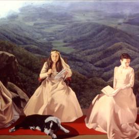 Family Portrait, 1994 Oil on linen  153 x 213 cm