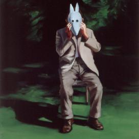 Il Dottore, 2000 Oil on linen 102 x 111 cm