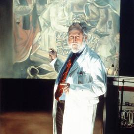Professor Vernon Marshal, 1997 oil on linen 152 x 102 cm Monash (TBC)