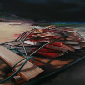 Untitled 8, 2007 oil on board 20 x 30cm 10846 cat.23