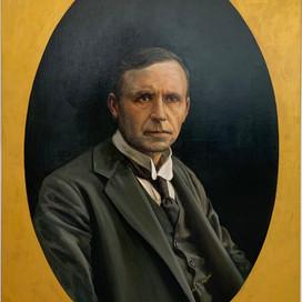 Posthumous Portrait - William Alexander Watt, 2019 oil on linen 100 x 80cm Parliament of Victoria