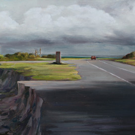 Leave the way I came, 2017 oil on board 19.5 x 47cm 20259 cat.2