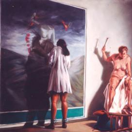 Untitled, 1999 Oil on linen 51 x 45.5 cm