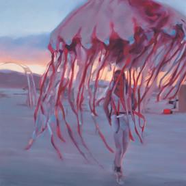 Quiver 2, 2015 Oil on linen  50.5 x 50.5 cm