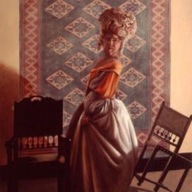 Cinderella, 1994  Oil on canvas  122 x 91 cm