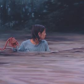 The Flood, 2005 Oil on linen 91 x 197.5 cm