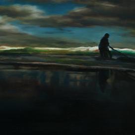 Untitled, 2007 Oil on board 13 x 27 cm