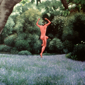 Dance of Death, 1996  Oil on canvas  153 x 102 cm