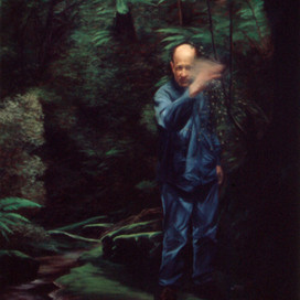 Wasp Man, 1999 Oil on linen 102 x 152 cm