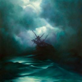 The Cry, 1996  Oil on canvas  153 x 102 cm